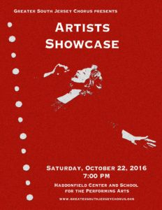 Artists Showcase October 22