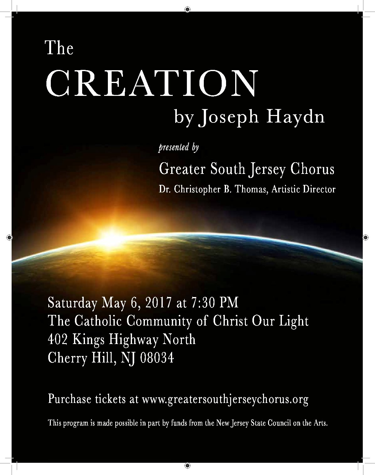 Haydn's The Creation | May 6, 2017