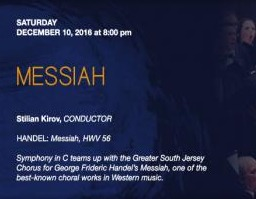 Messiah with Symphony in C | Dec 10, 2016